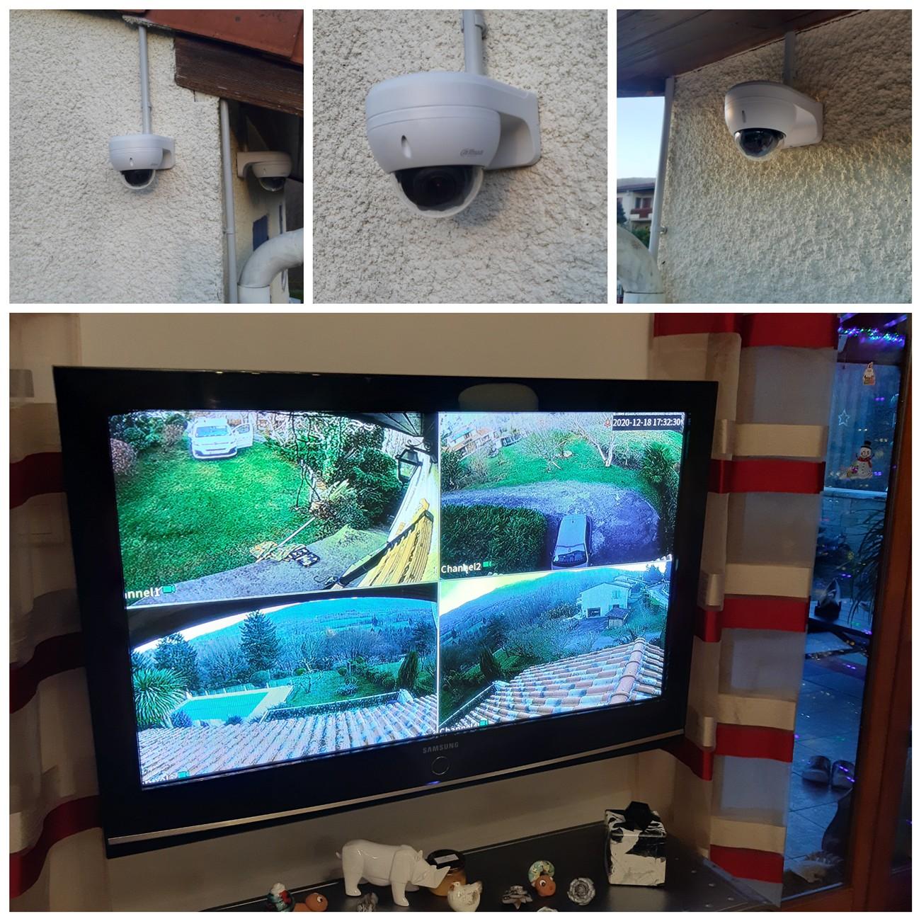 réalisation de votre installateur de videosurveillance 09000  Serres sur Arget