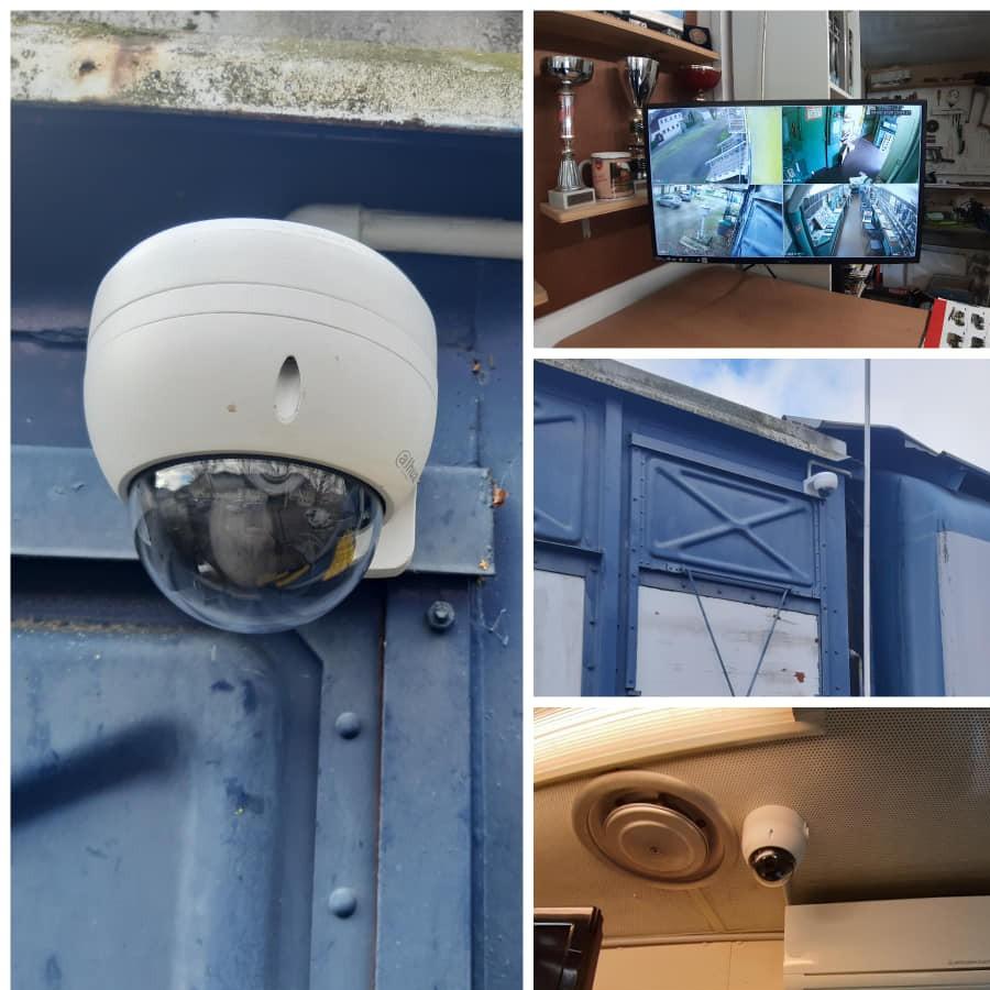 Mise en place de caméras de surveillance supplémentaires sur installation existante - 09 400